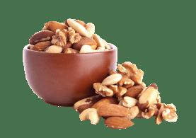 Amendoim e Castanha