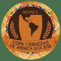 Bronze na Copa Cervezas de América GCA 2018 – Estilo Weissbier