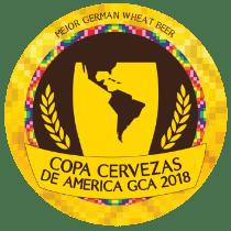 Ouro na Copa Cervezas de América GCA 2018 – Melhor German Wheat Beer