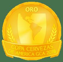 Medalha de Ouro na Copa Cervezas de América GCA 2016