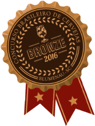 Medalha de Bronze no Concurso Brasileiro de 2016